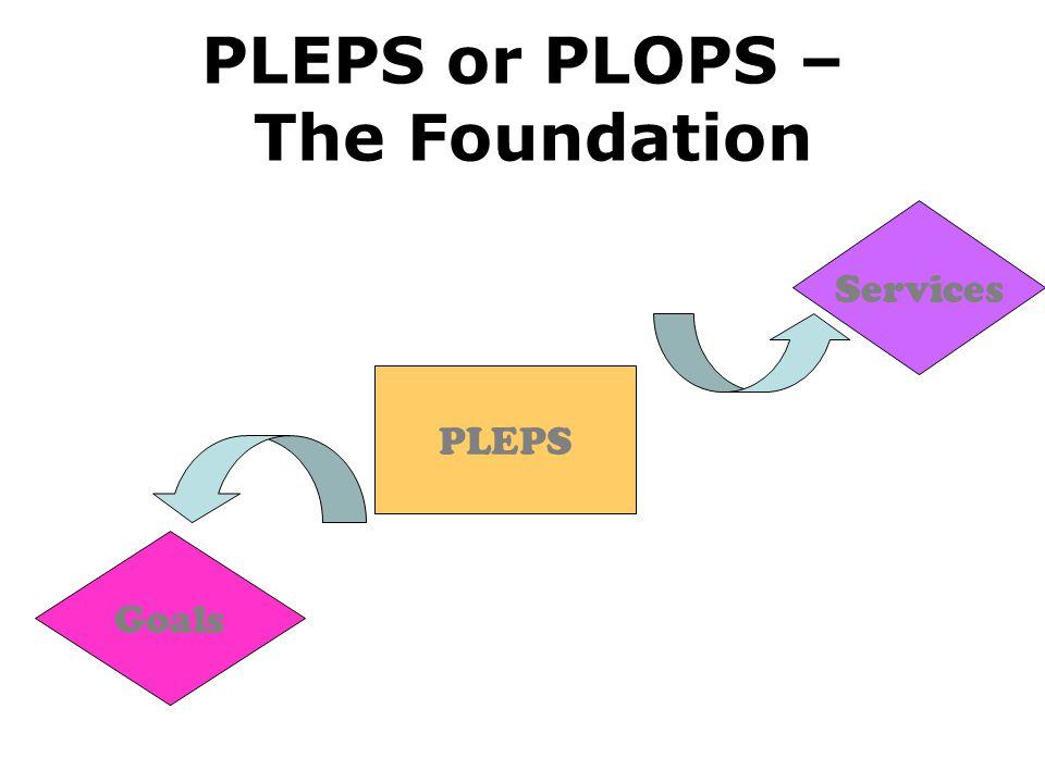 PLEPS or PLOPS – The Foundation PLEPS Services Goals