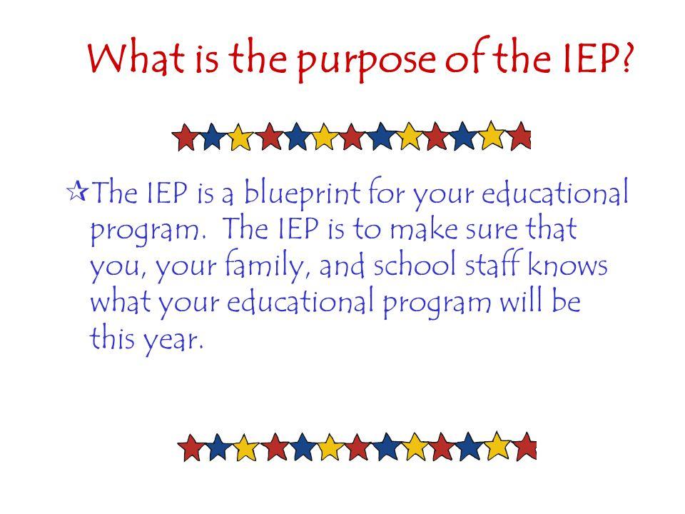 25 The IEP Script – Elementary Sample Hi, my name is _________________________.
