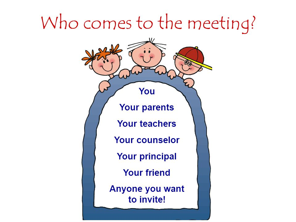 Other things about IEPs IEP meetings must be held at least once a year.
