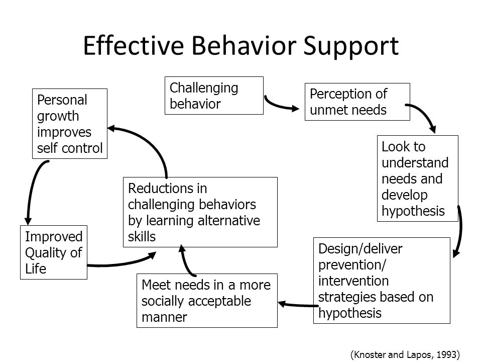 Behaviors Exist in Context Behaviors are context related Challenging behaviors result from unmet needs Effective supports come from an understanding of why a behavior occurs