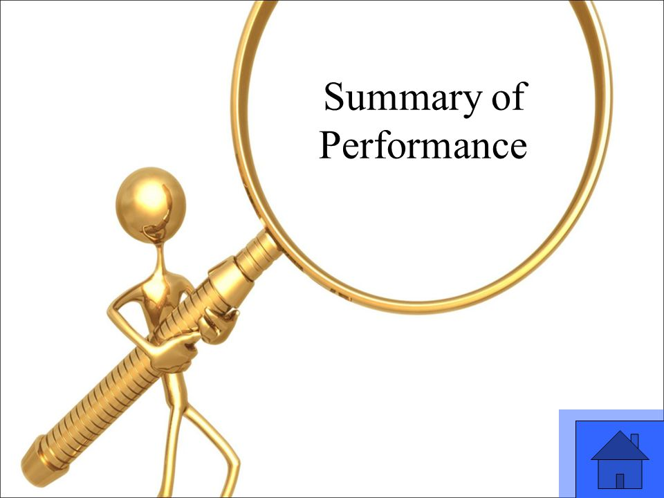 17 Summary of Performance
