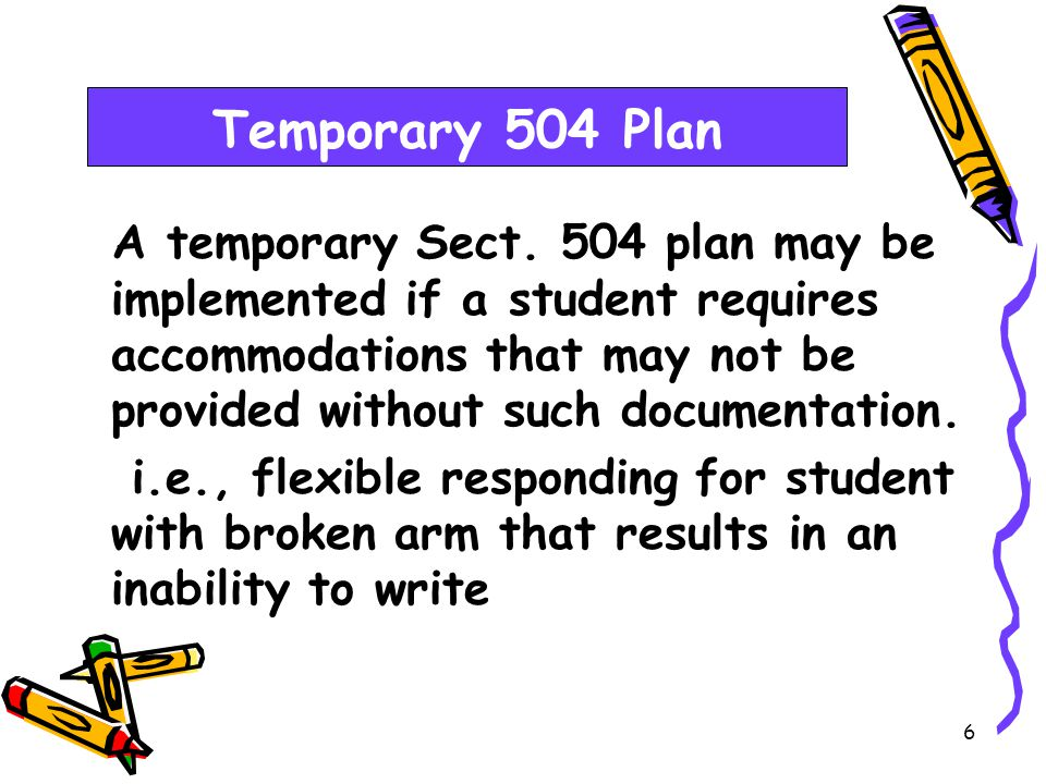 5 Students with disabilities must be provided the opportunity to participate in practice activities with appropriate allowable accommodations.