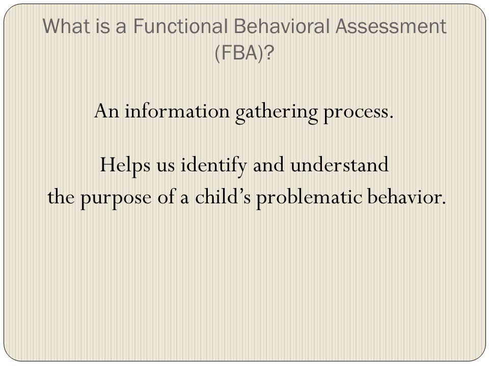 More Behavior Strategies.
