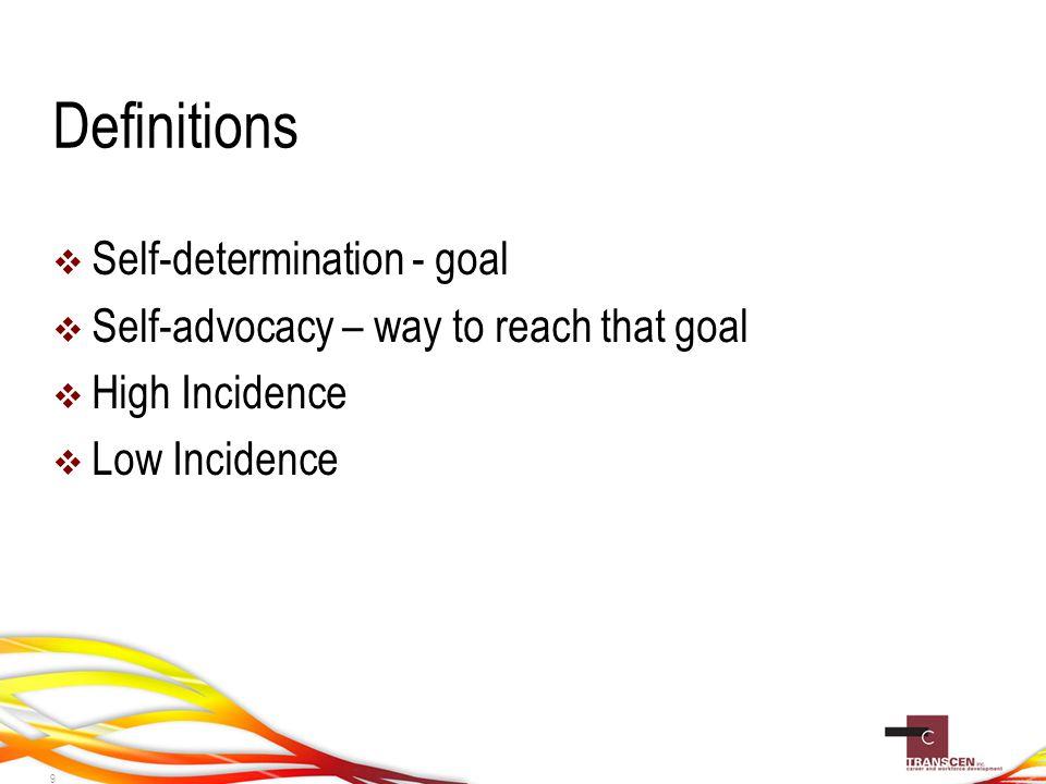 Plan to Teach Self-Advocacy Skills  Goals  Instructional Strategies  Family Involvement 40