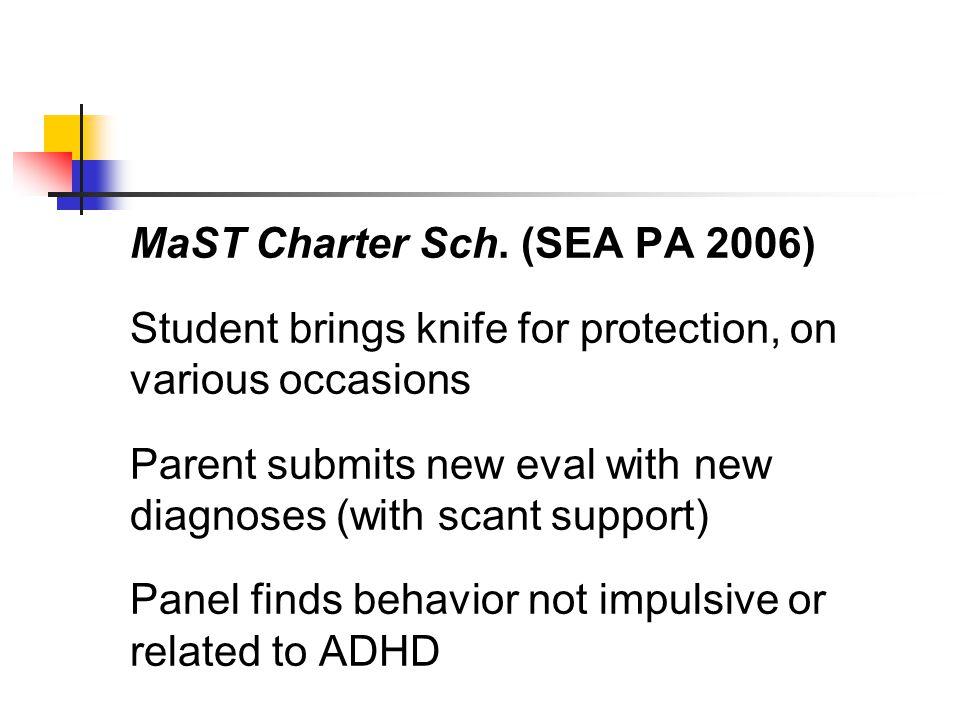 MaST Charter Sch.
