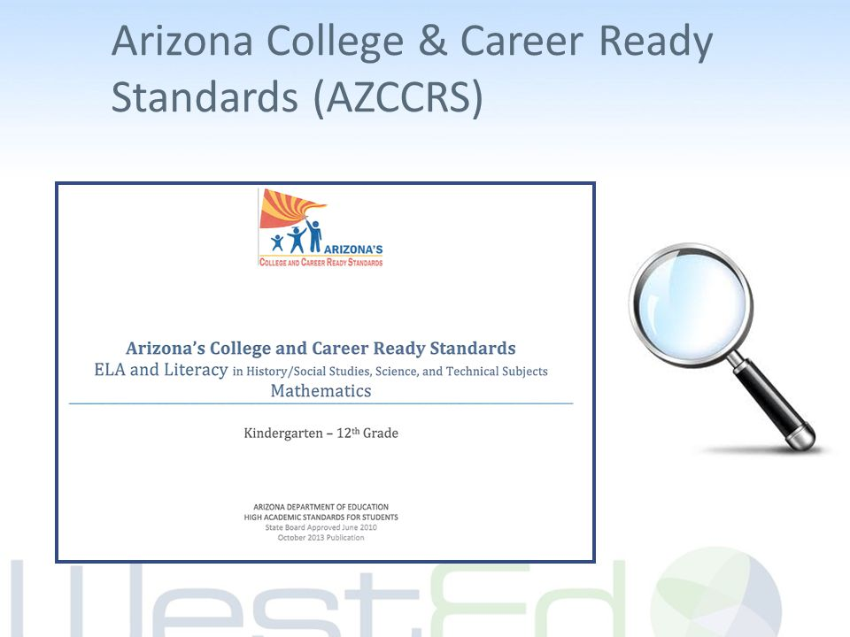 Arizona College & Career Ready Standards (AZCCRS)