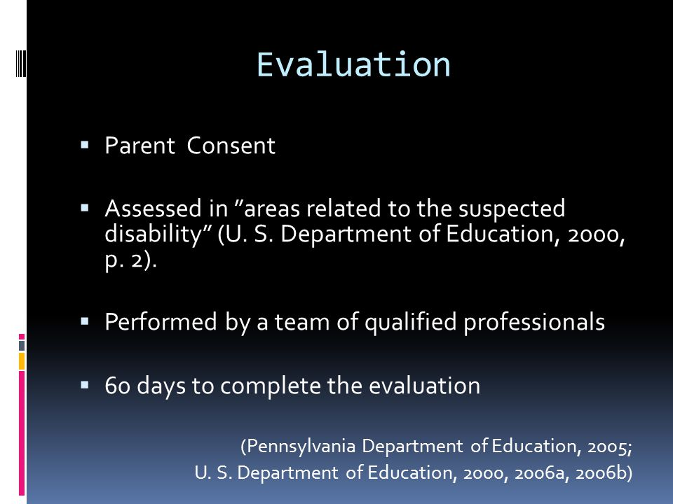 References  U.S. Department of Education. (2004).