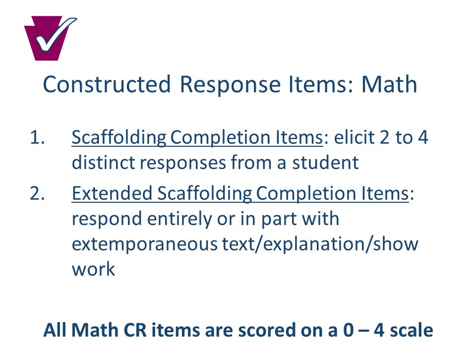Preparation Resources Item and Scoring Sampler: Sample questions and scoring for each Keystone Exam will be available to help prepare both students and teachers.