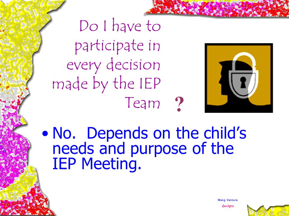 Which one of the child's regular education teachers must attend the IEP meeting.