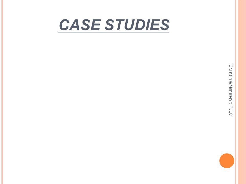 CASE STUDIES Brustein & Manasevit, PLLC