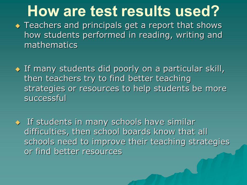 Quiz: True or False.Students on an I.E.P. (Individual Education Plan) do not write the E.Q.A.O.