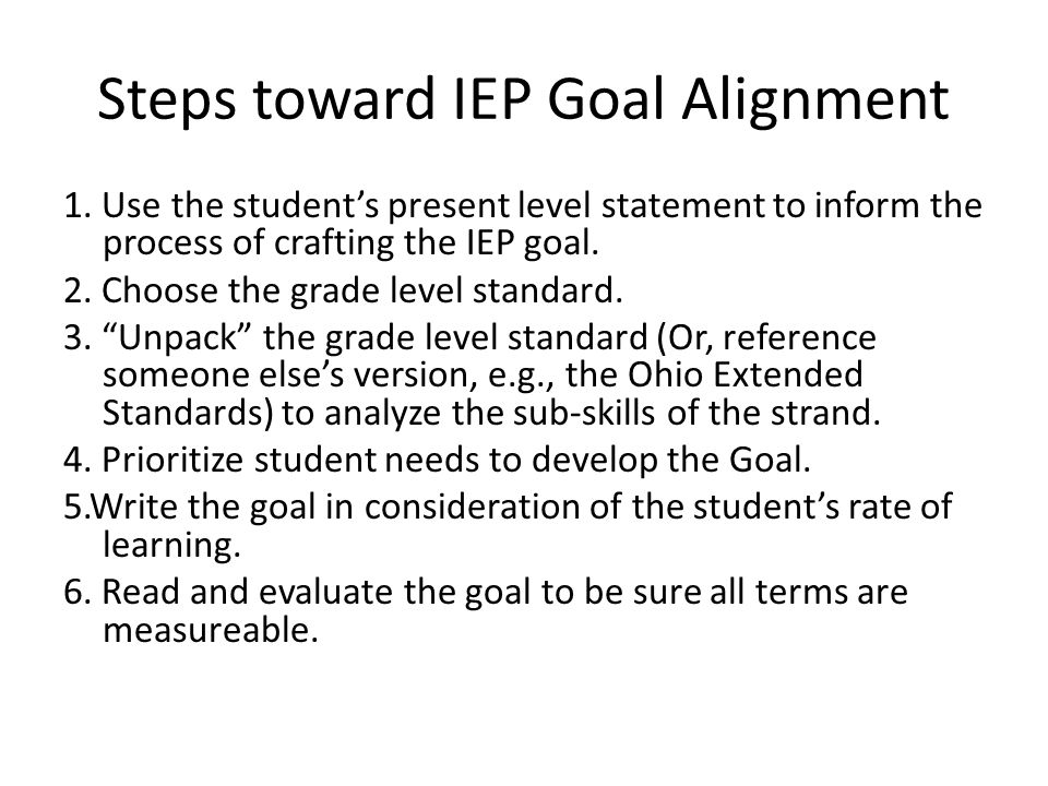 Alignment Common core key points: Although CCS replace ILS the foundational pieces remain consistent –students will be given opportunities for instruc