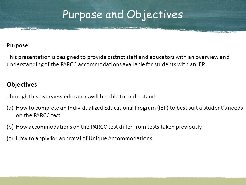 4 Louisiana Believes Test Content Louisiana will administer PARCC assessment for English language arts (ELA) and math to students in grades 3 through 8 in spring 2015.