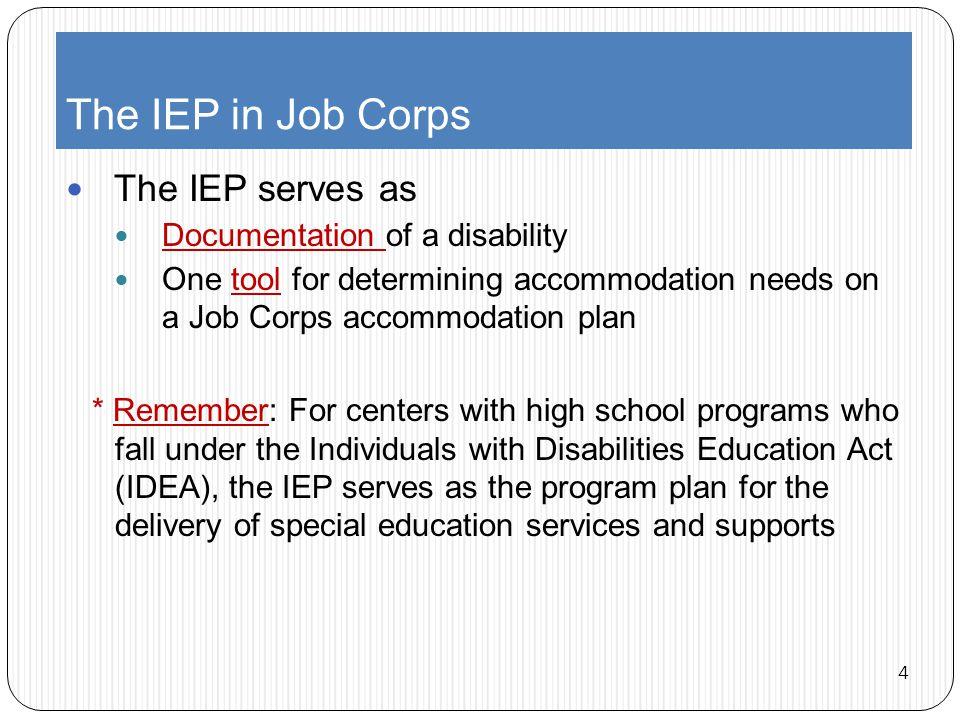Older IEPs Extracting relevant information from older documentation 35