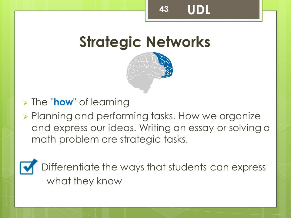 Strategic Networks  The