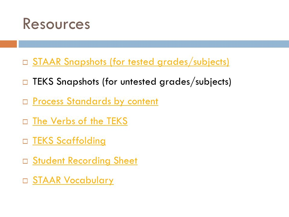 Student Recording Sheets  For tested grades and subjects  Intended to be used with students, but could be used for collecting/recording data to be used in the PLAAFP.
