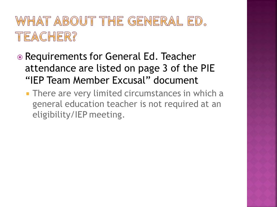  Requirements for General Ed.