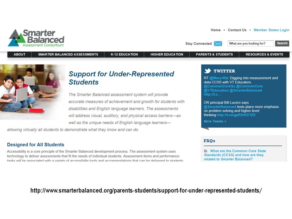 http://www.smarterbalanced.org/parents-students/support-for-under-represented-students /