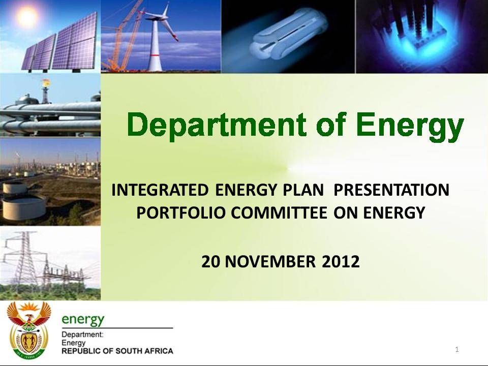 HIGH-LEVEL APPROACH 2 Identify key objectives for IEP Guided by National Objectives Informed by Energy White Paper and other energy policies Described in National Energy Act Influenced by various government policies Define Status Quo and implications for future trends Local and global challenges Informed by implemented policies with high impact on energy sector Macroeconomic factors, existing and implemented policies Informs assumptions about future energy demand Informs assumptions about technology trends Define Problem Statement Key Policy Questions that IEP should deal with Define key criteria and relative importance (weightings)