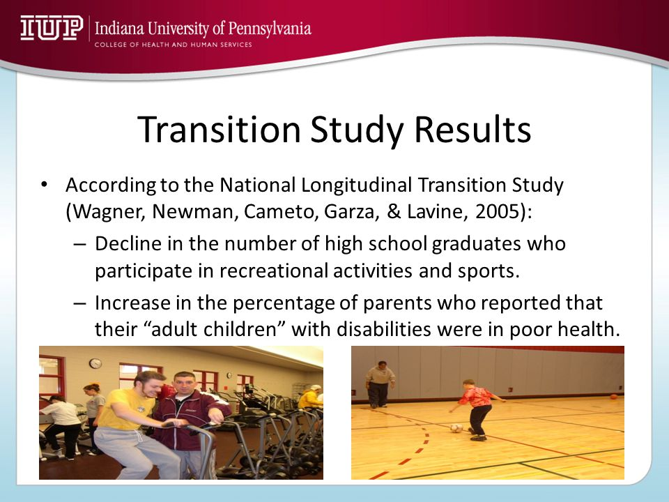 What is the Health and Physical Educator's Role in the Transition Process.