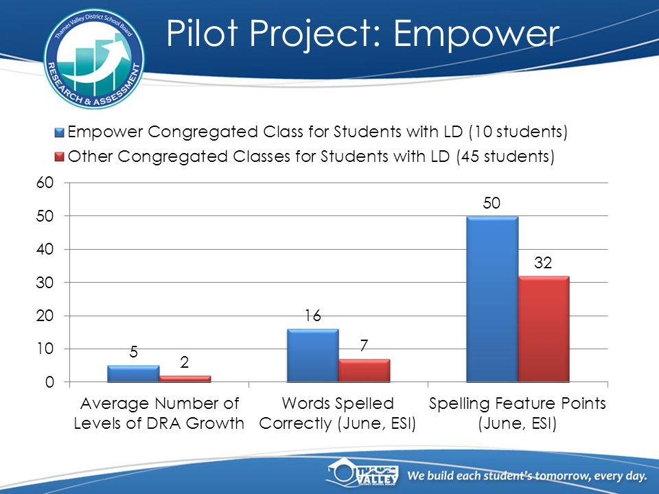 Pilot Project: Empower