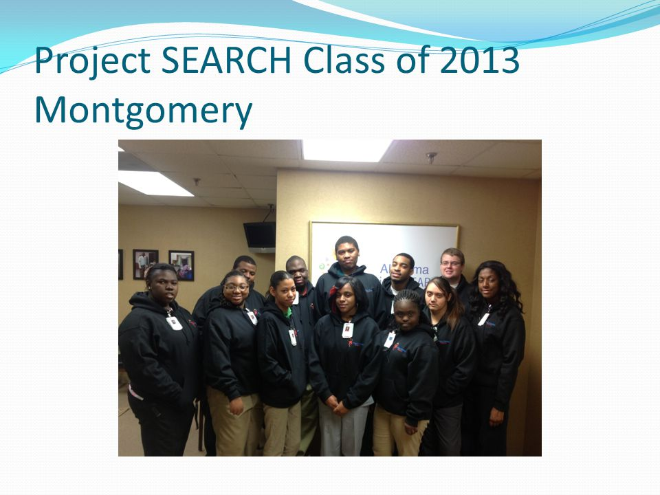 Project SEARCH Class of 2013 Montgomery