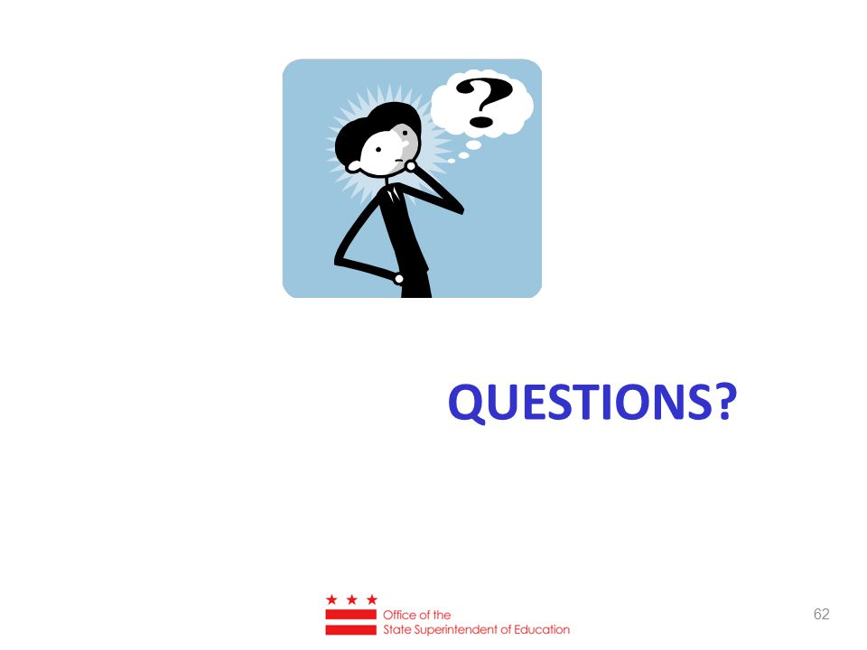 QUESTIONS 62