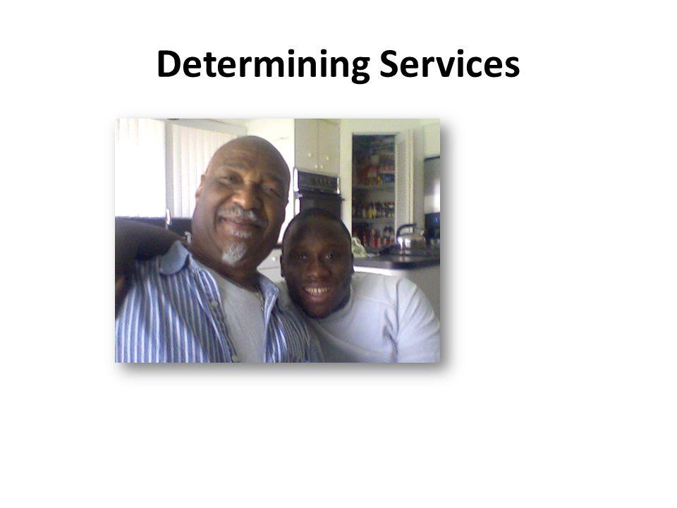Determining Services