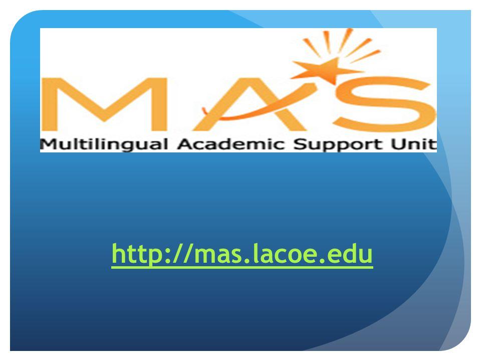 http://mas.lacoe.edu
