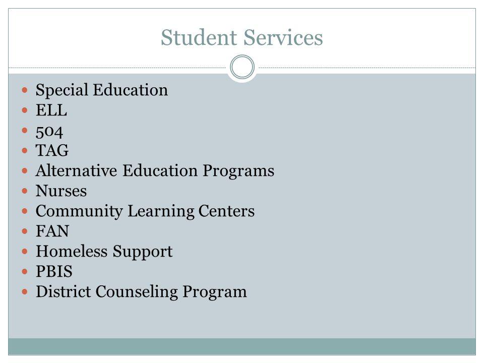 Student Services Website http://www.redmond.k12.or.us/