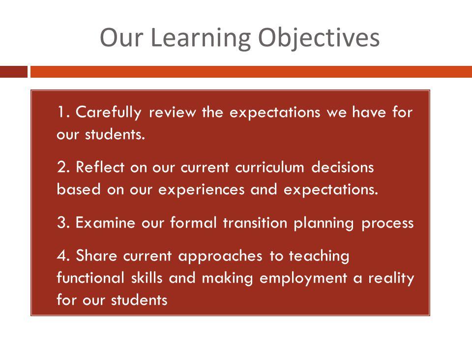 Life Skills Training Works! ( Alwell & Cobb, 2009)