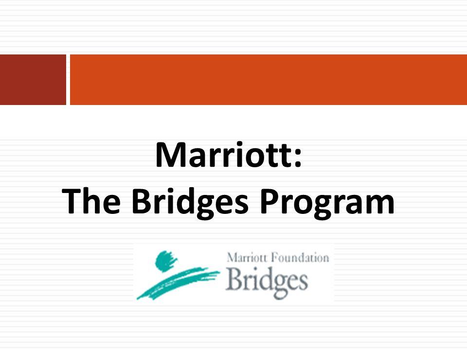Marriott: The Bridges Program
