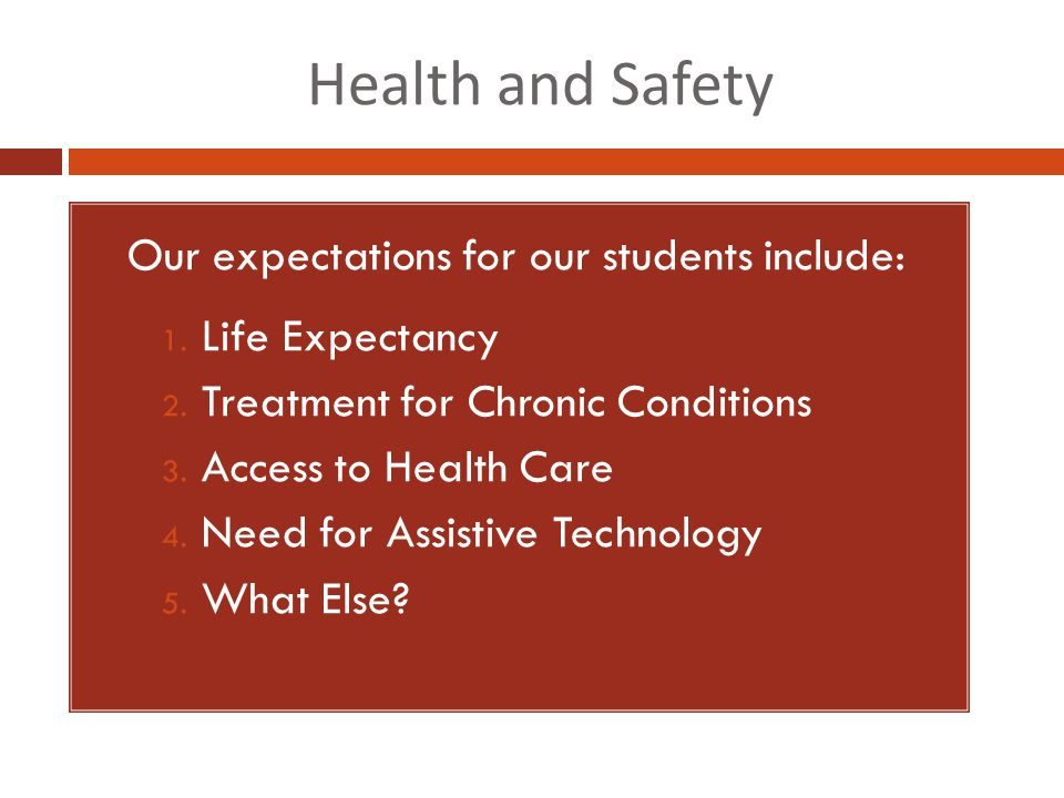 Independence and Self-Esteem 1.Our expectations for our students include: 1.