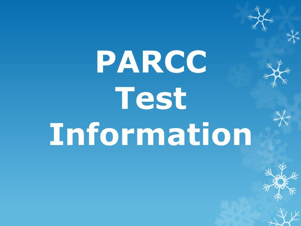 PARCC Test Information