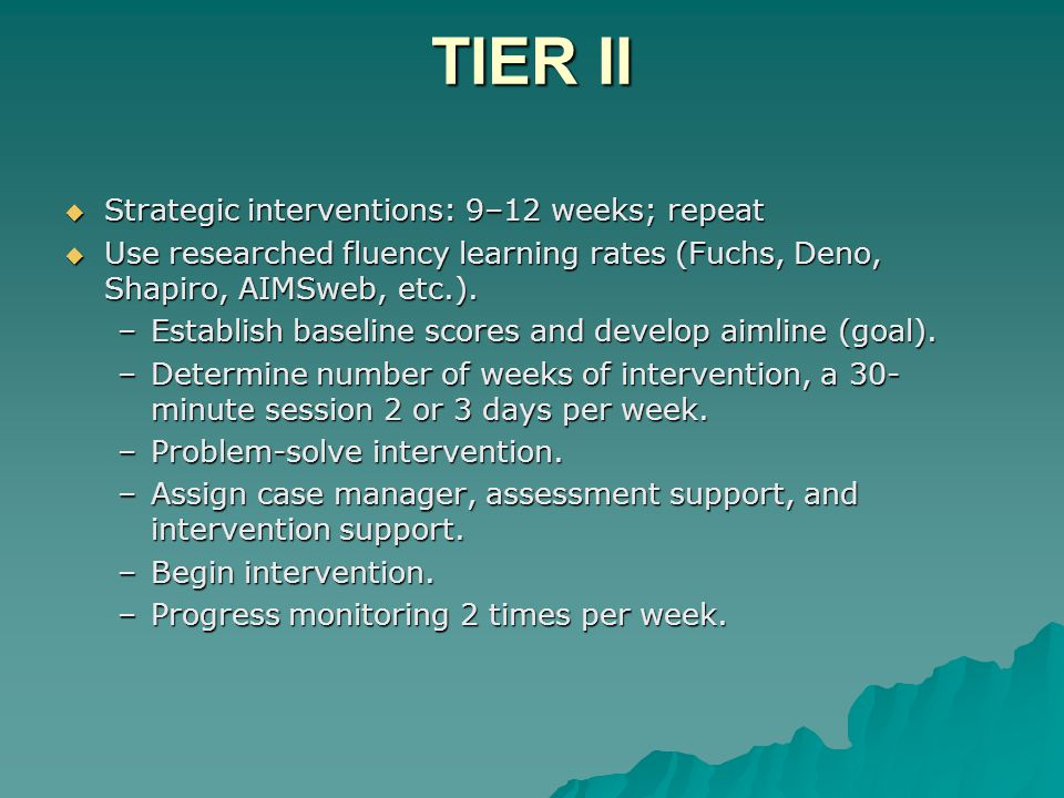 Examples of Elementary Tier I Instructional Materials  Teachers have the freedom to use their professional judgment in providing differentiated instruction –Open Court: Reteach –Open Court: ELD component –Hampton Brown –SRA –Readers Theater –Literature Circles –Partner Reading –Teacher directed grouping –Team teaching