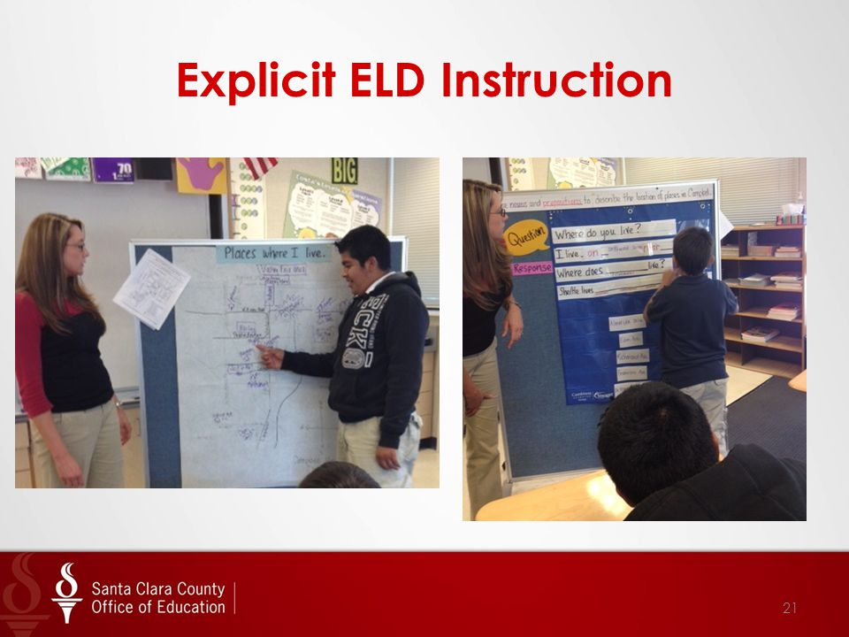 Explicit ELD Instruction 21