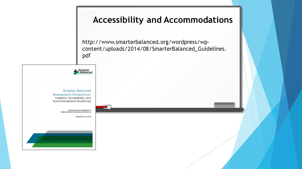 1)What are the available designated supports and accommodations for students.