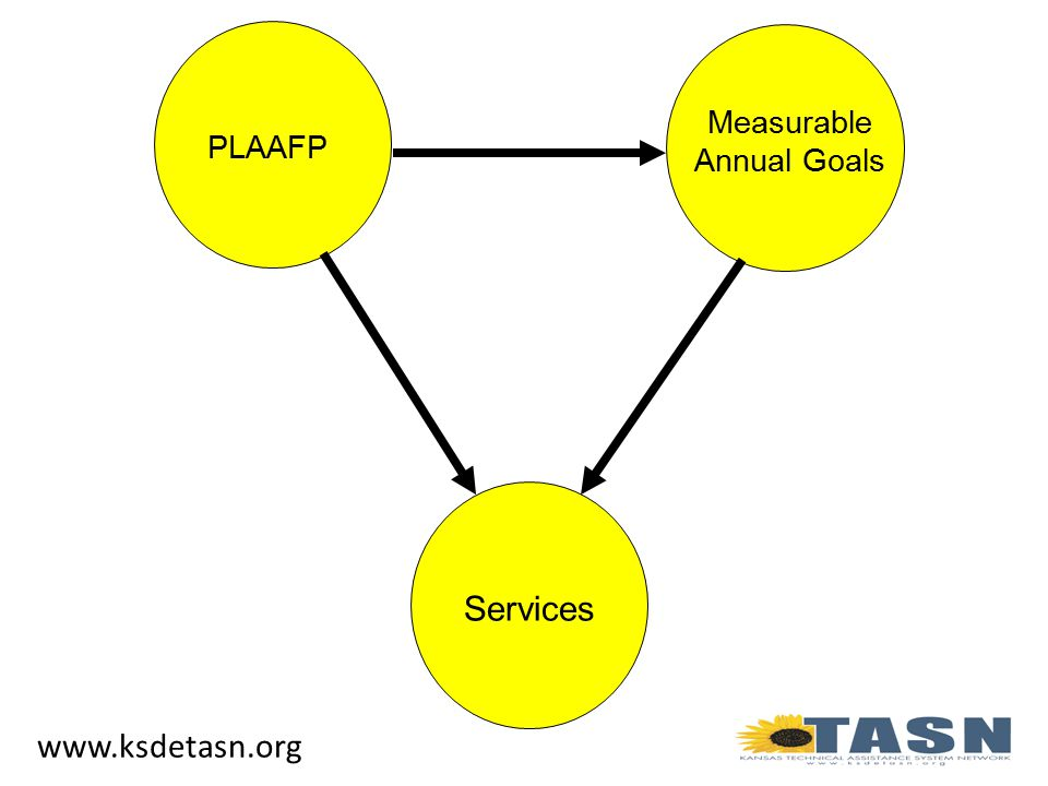 PLAAFP Measurable Annual Goals Services www.ksdetasn.org