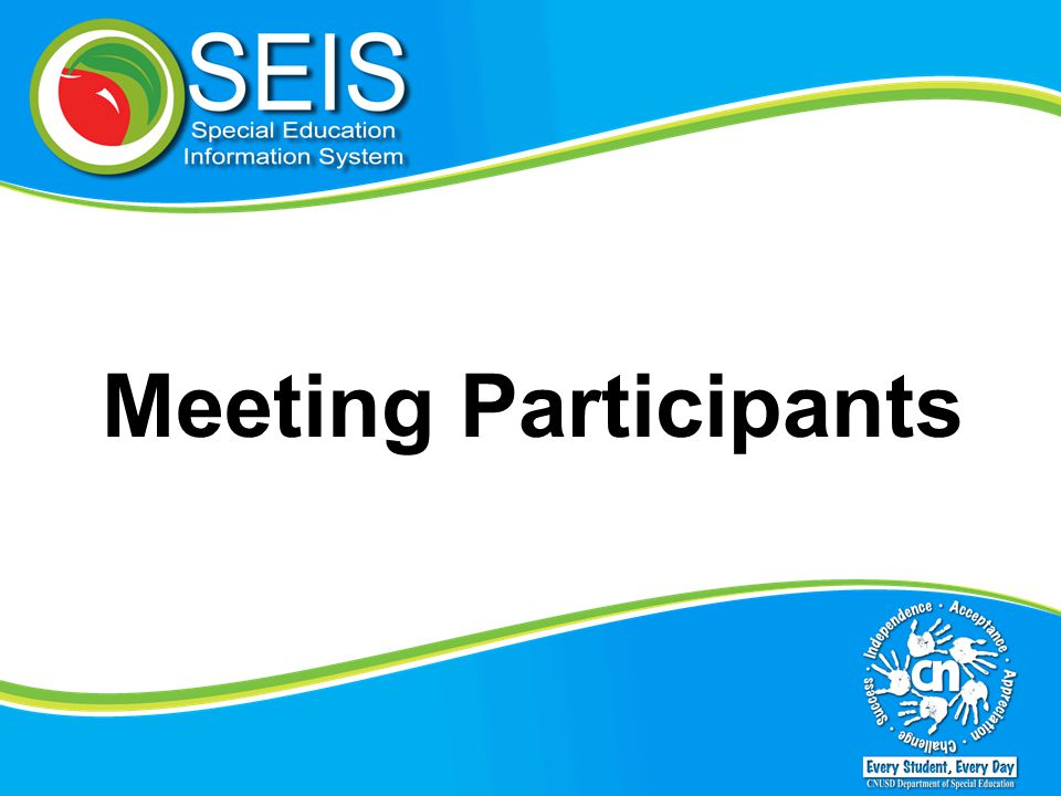 Meeting Participants