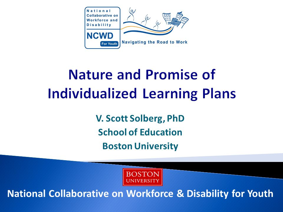  States use different names – Student Success Plan in CT, Individual Career & Academic Plan in CO, many more  37 states and DC require or encourage ILPs  ILPs typically begin in middle school  Purposes: ◦ To personalize learning ◦ To develop college and career readiness ◦ To prepare early to meet graduation requirements  Long history of individualized plans in Special Education  Not the same as an Individualized Education Program (IEP) 12