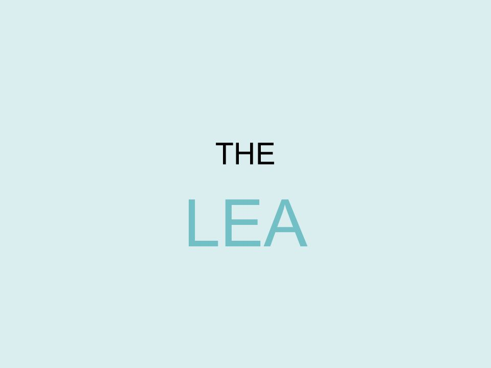 THE LEA
