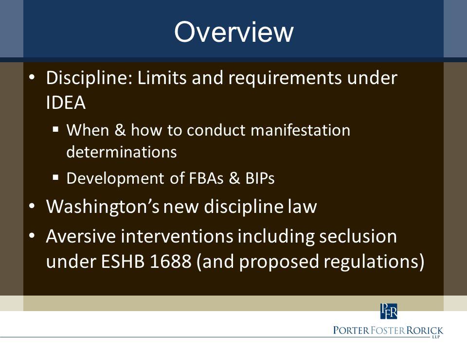 New discipline law – all students ESSB 5946 – effective Sept.