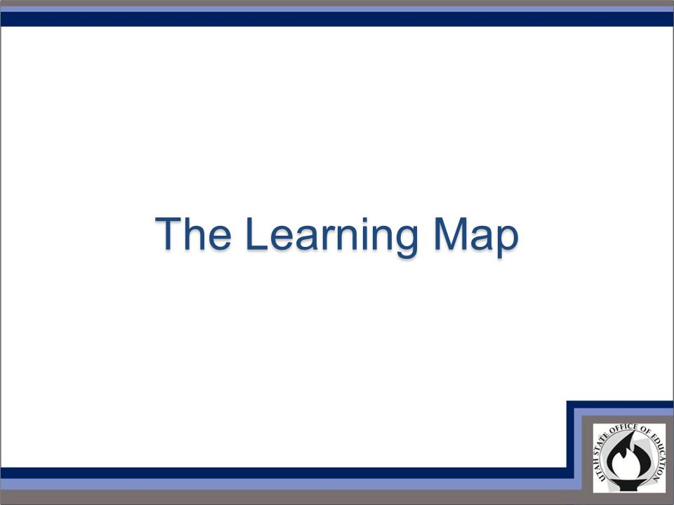 The Learning Map