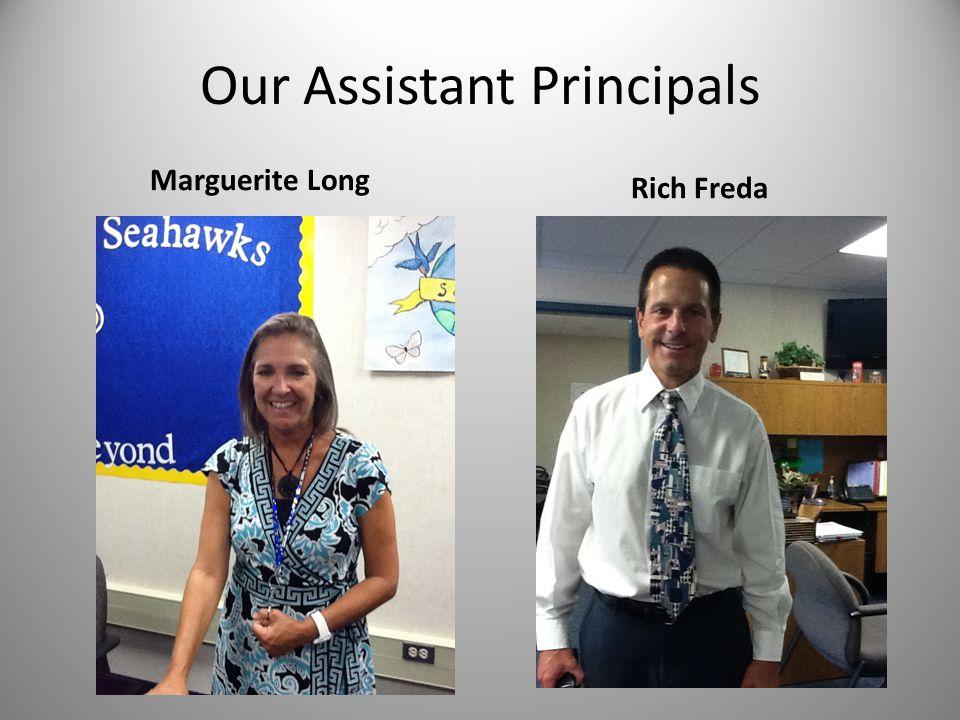 Our Assistant Principals Marguerite Long Rich Freda