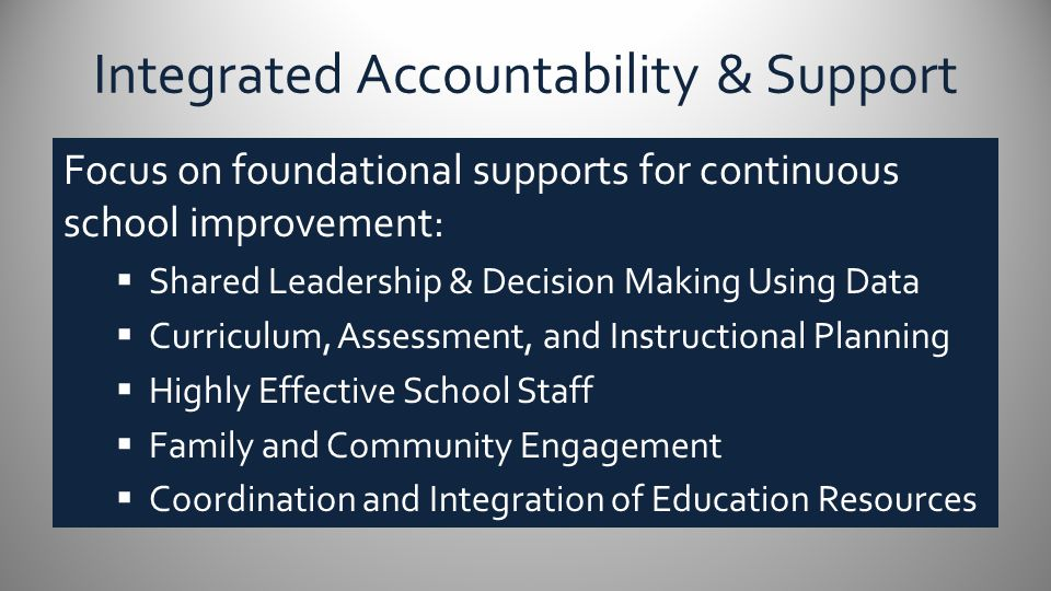 Integrated Accountability and Support Preparing for On-site Verification Visit – Partners in School Improvement Enemy Swim Day School and Bureau of Indian Education BUREAU OF INDIAN EDUCATION