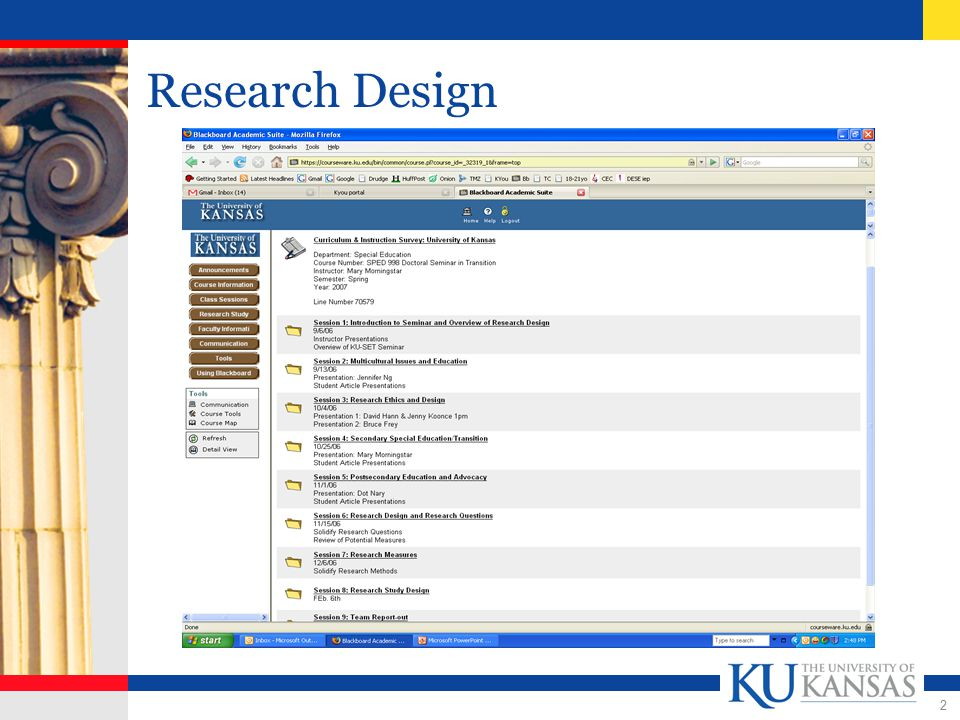 2 Research Design