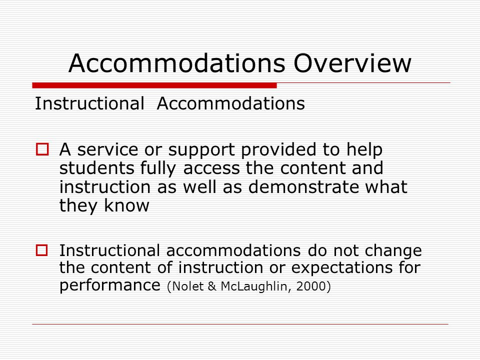 Local Review of Testing Accommodation Requests  Step 1: Receive accommodation requests from: school test coordinators administrators teachers parents advocates