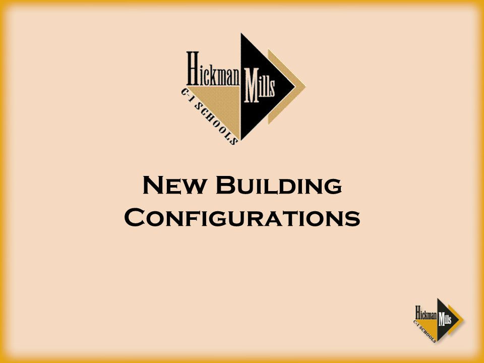 New Building Configurations