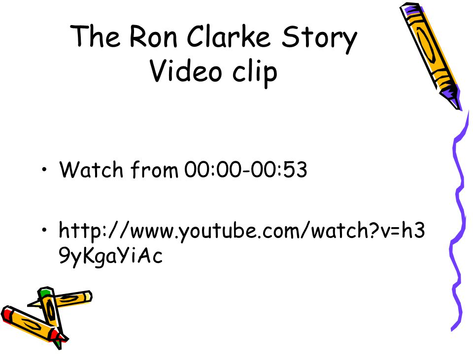 The Ron Clarke Story Video clip Watch from 00:00-00:53 http://www.youtube.com/watch v=h3 9yKgaYiAc