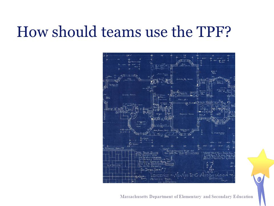How should teams use the TPF